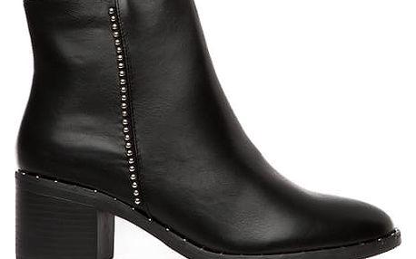 Dámské černé kotníkové boty Giana 103