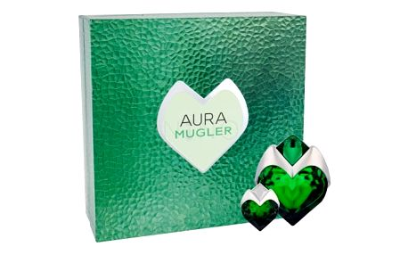 Thierry Mugler Aura dárková kazeta Naplnitelný pro ženy parfémovaná voda naplnitelná 50 ml + parfémovaná voda 5 ml