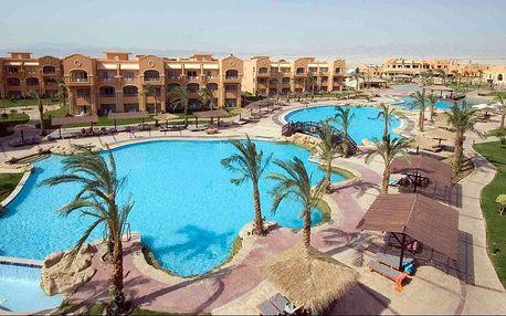 Egypt - Hurghada na 8 až 9 dní, all inclusive s dopravou letecky z Prahy, Brna nebo katovice přímo na pláži