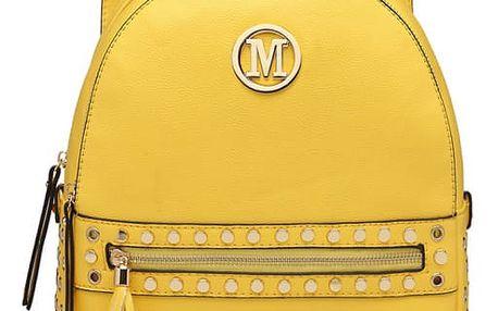 Dámský žlutý batoh Cherry 6807