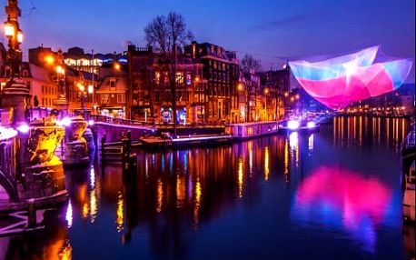 Zářivý Amsterdam, Festival světel a vánoční jeskyně. Výjimečný 4-denní zájezd s ubytováním