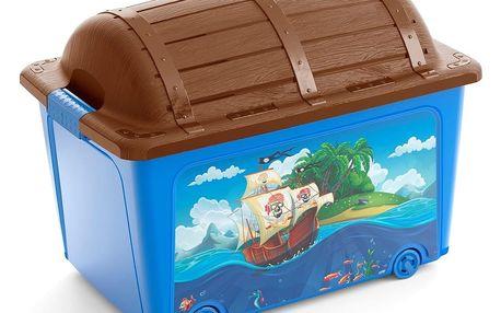 Úložný box Kis W Box Toy Style Pirate 50 l