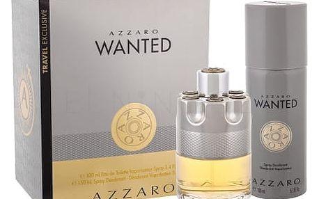 Azzaro Wanted dárková kazeta pro muže toaletní voda 100 ml + deodorant 150 ml
