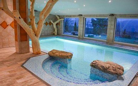 Vysočina v Hotelu Podlesí *** v pohádkovém resortu s polopenzí a relaxací