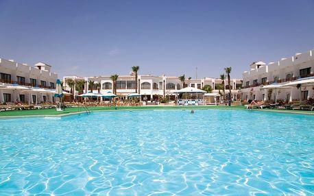 Egypt - Hurghada na 8 až 15 dní, all inclusive s dopravou letecky z Katowic, Vídně nebo Prahy, přímo na pláži