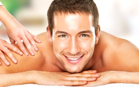 90 minut relaxu pro muže: thajská masáž i pivo