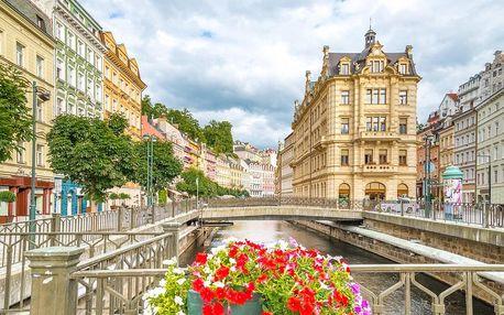 Hotel Mignon v Karlových Varech s polopenzí a wellness balíčkem