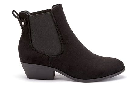 Dámské černé kotníkové boty Miriam 1226