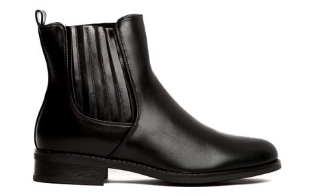 Dámské černé kotníkové boty Raquel 101