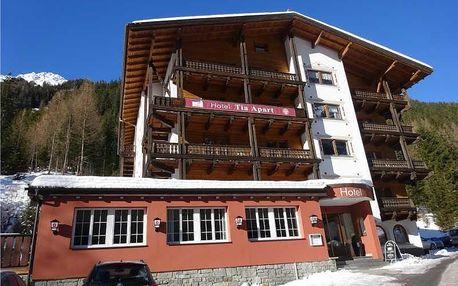 Rakousko - Tyrolsko na 5 dní, polopenze nebo bez stravy s dopravou vlastní