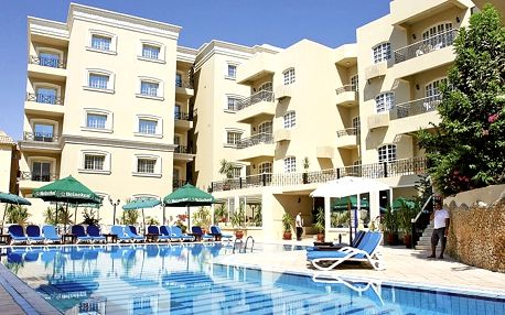 Egypt - Hurghada na 8 dní, all inclusive s dopravou letecky z Prahy 300 m od pláže