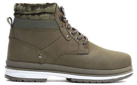 Dámské zelené kotníkové boty Journey 008