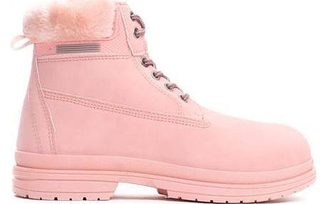 Dámské růžové kotníkové boty Vinnie 009