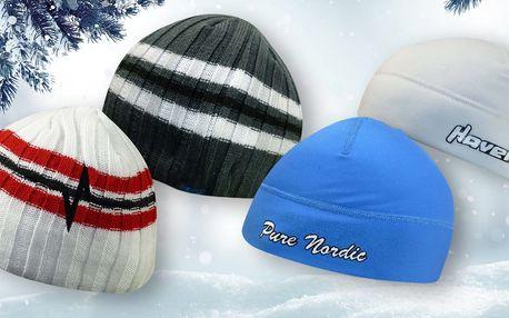 Zimní čepice na běžky v mnoha barvách