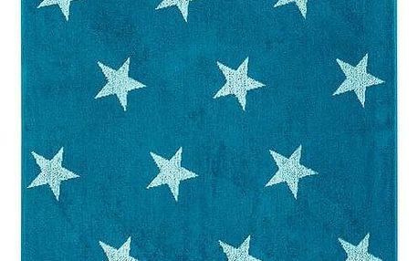 JAHU Osuška Stars tyrkysová, 70 x 140 cm