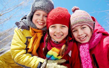 Zábavný zimný detský tábor Kormoránik s novoročnou oslavou a super aktivitami