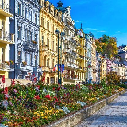 3 dny u Karlových Varů: jídlo, sekt i wellness
