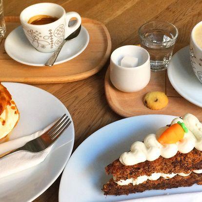 Káva a dezert podle výběru pro 1 nebo 2 osoby