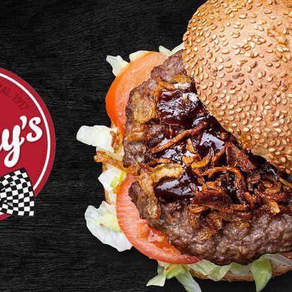 Burger Speciál s hovězím masem z českých chovů