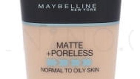 Maybelline Fit Me! Matte + Poreless 30 ml sjednocující makeup s matujícím efektem pro ženy 105 Natural Ivory