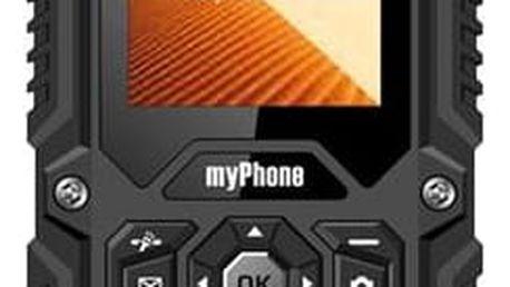 myPhone HAMMER DUAL SIM černý (TELMYHHAMBK)