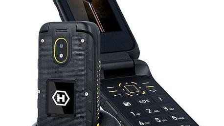 myPhone Hammer Bow Plus Dual SIM černý/oranžový (TELMYHBOWPOR)