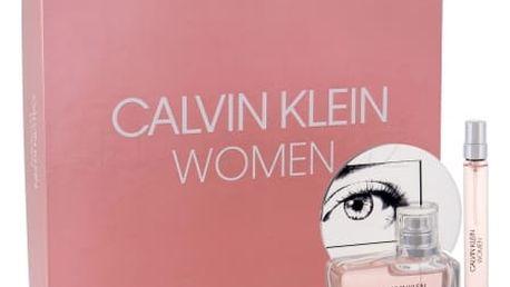 Calvin Klein Calvin Klein Women dárková kazeta pro ženy parfémovaná voda 50 ml + parfémovaná voda 10 ml