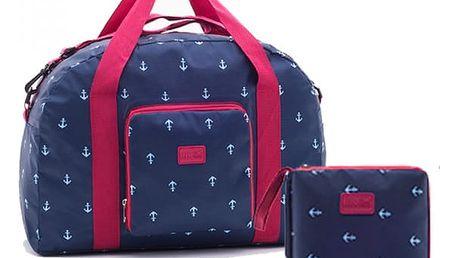 Cestovní taška skládací