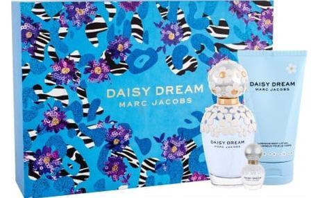 Marc Jacobs Daisy Dream dárková kazeta pro ženy toaletní voda 100 ml + tělové mléko 150 ml + toaletní voda 4 ml