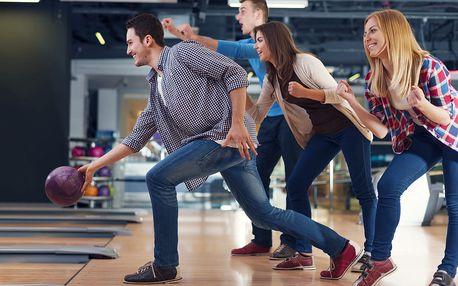 Bowling na 1 nebo 2 hodiny až pro 8 osob v Hradci Králové