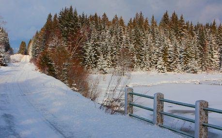 3 nebo 5 dní od podzimu až do jara u Lipna