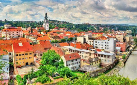 3 či 5 dní v Třebíči: polopenze, relax i památky