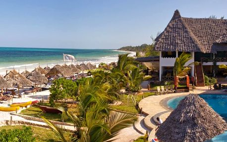 Zanzibar - Pwani Mchangani na 9 dní, light all inclusive s dopravou Prahy nebo letecky přímo na pláži
