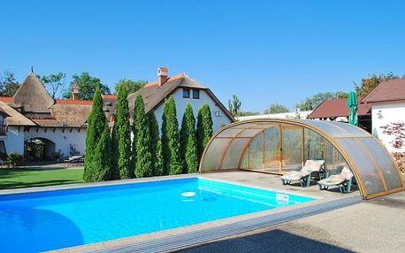 Penzion Žitava nedaleko Podhájské s polopenzí, prohlídkou farmy a bazénem