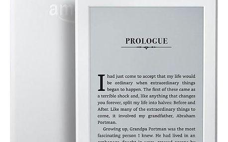Amazon Kindle 8 TOUCH Wi-Fi verze s reklamou bílá (EBKAM1148)