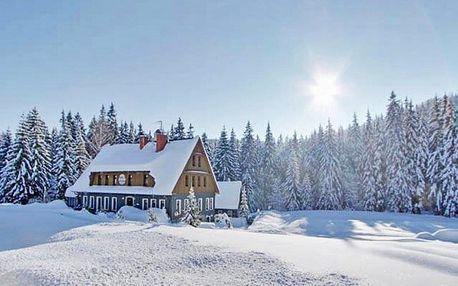 Zima v Jizerských horách s polopenzí
