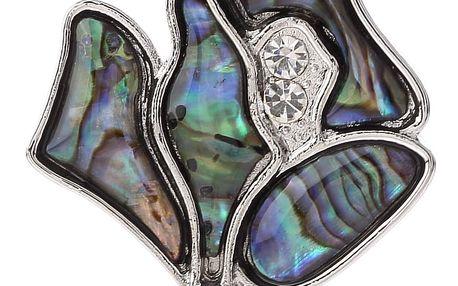 Fashion Icon Přívěsek květina s Paua perletí