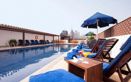 Spojené arabské emiráty - Dubai na 6 až 8 dní, polopenze nebo snídaně s dopravou letecky z Prahy, 5 km od pláže