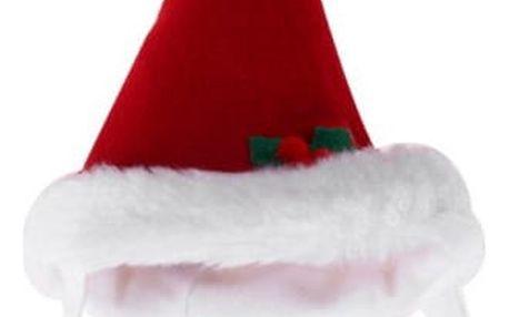 Vánoční čepička pro pejsky