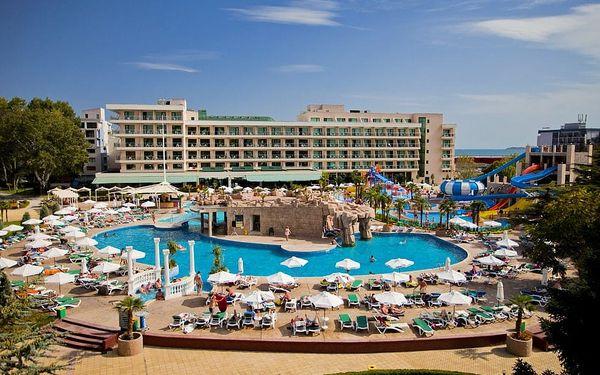 Bulharsko - Slunečné Pobřeží na 8 až 12 dní, all inclusive s dopravou letecky z Katowic, přímo na pláži