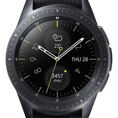 Chytré hodinky Samsung Galaxy Watch 42mm černé (SM-R810NZKAXEZ)