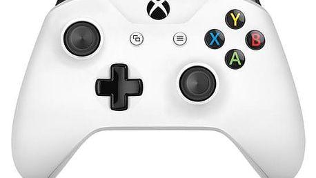 Microsoft Xbox One S Wireless - bílý (TF5-00004)