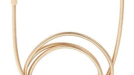 Verbatim Sync & Charge USB/Lightning, 1m, MFi, nerezová ocel zlatý (48861)