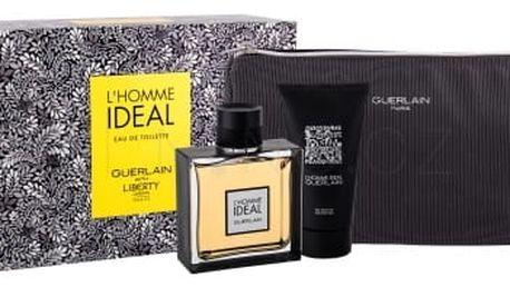 Guerlain L´Homme Ideal dárková kazeta pro muže toaletní voda 100 ml + sprchový gel 75 ml + kosmetická taška