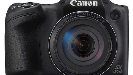 Canon PowerShot PowerShot SX430 IS černý (1790C002)