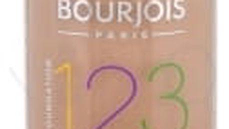 BOURJOIS Paris 123 Perfect 30 ml dlouhotrvající make-up pro ženy 55 Dark Beige