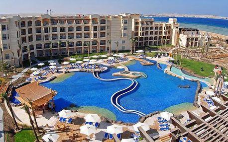 Egypt - Sahl Hasheesh na 8 dní, all inclusive s dopravou letecky z Prahy přímo na pláži