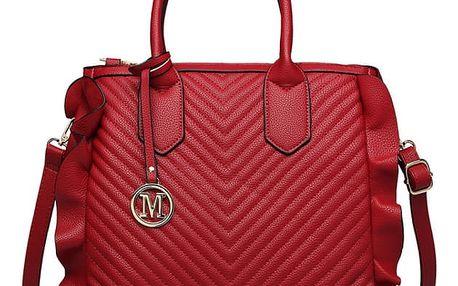 Dámská červená kabelka Karly 1842