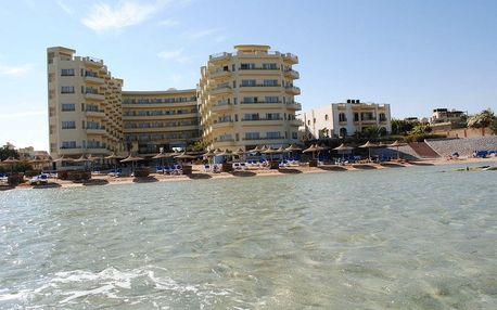 Egypt - Hurghada na 8 až 15 dní, all inclusive s dopravou letecky z Prahy přímo na pláži