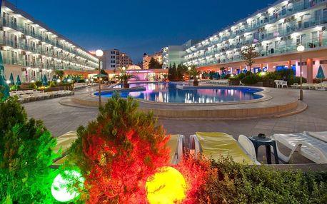 Bulharsko - Slunečné Pobřeží na 8 dní, all inclusive nebo snídaně s dopravou katovice nebo vlastní 250 m od pláže